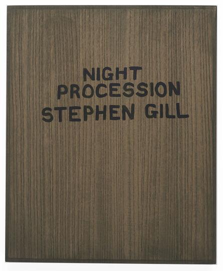 Stephen Gill, 'Night Procession Collotype Portfolio', 2017