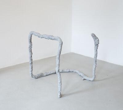 Sam Ekwurtzel, 'incomplete open cube 6/13', 2014
