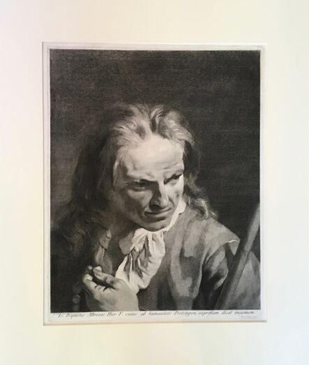 Marco Alvise Pitteri after Giovanni Battista Piazzetta, 'Giovanni Battista Albrizzi', 1750