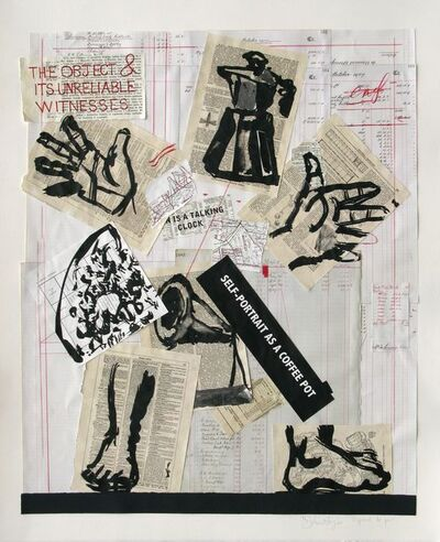 William Kentridge, 'SELF-PORTRAIT AS A COFFEE POT', 2012