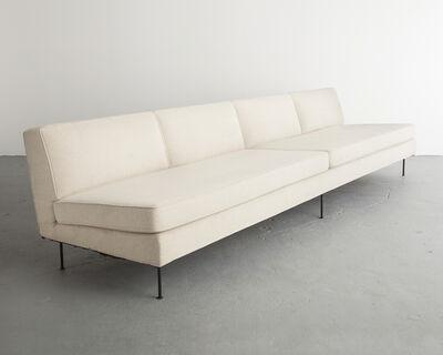 Greta Magnusson Grossman, 'Custom upholstered four-seat sofa', ca. 1949