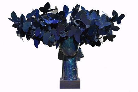 Manolo Valdés, 'Blue Butterflies', 2016