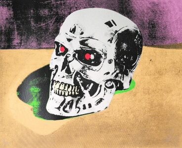 Ryan Callanan (RYCA), 'WAR SKULL PURPLE SUITE', 2012