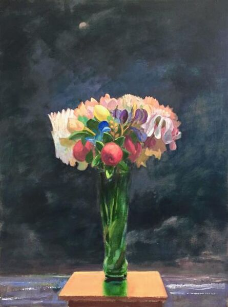 Donald Beal, 'Night Floral and Bay', 2020