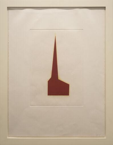 Robert Therrien, 'No title (Red chapel)', 1993