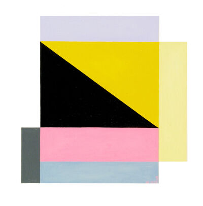 Judith Seligson, 'Square Within a Square (painting)', 2003
