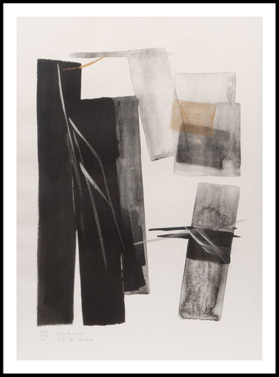 Tōkō Shinoda 篠田 桃紅, 'After the Snow', 1999