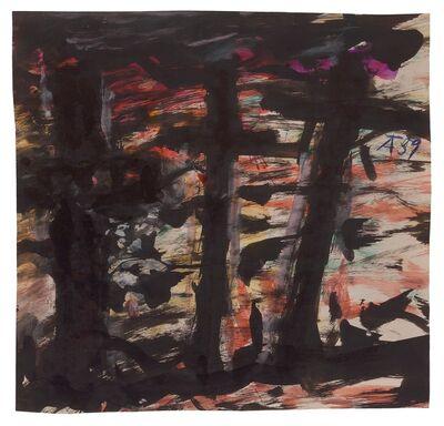 Fritz Ascher, 'Three Crosses', ca. 1959