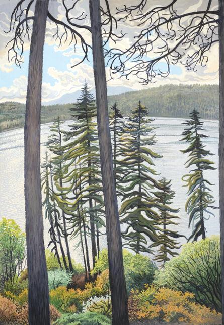 Phyllis Shafer, 'Storm Over Fallen Leaf Lake'