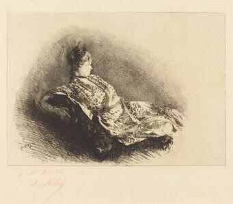 Giuseppe De Nittis, 'The Dancer Holoke-GO-Zen', 1873