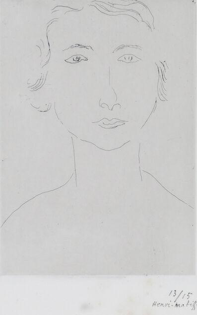 Henri Matisse, 'Jeune Polonaise', ca. 1917