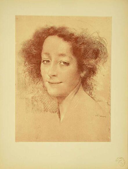 Lucien Lévy-Dhurmer, 'Belle D'Antan', 1897