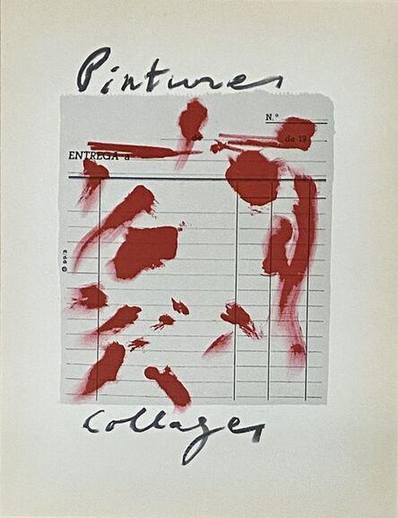 Antoni Tàpies, 'Antoni Tàpies lithograph 1960s (Tàpies prints)', 1969