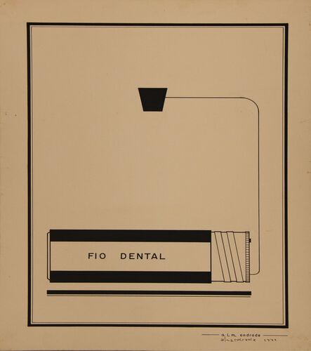 Almandrade, 'Untitled Visual Poem', 1974