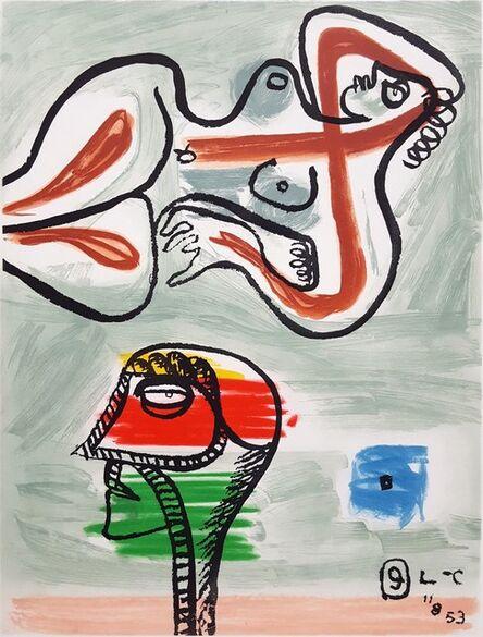Le Corbusier, 'Unité, Planche 9 (Set of 2)', 1965