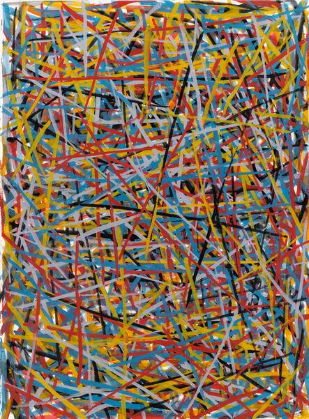 Sol LeWitt, 'Straight Brushstrokes in All Directions', 1993