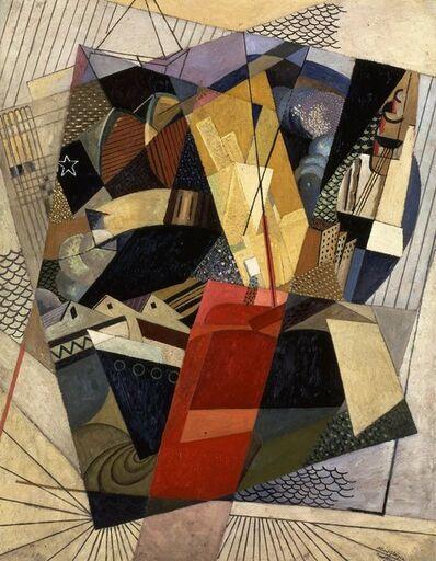 Albert Gleizes, 'Dans le port [In port]', 1917
