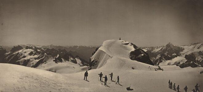 Adolphe Braun, 'Summit of Mont Titlis, Switzerland', 1866