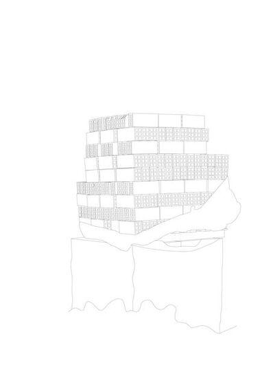 Jorge Yeregui, 'Notas para un levantamiento', 2015