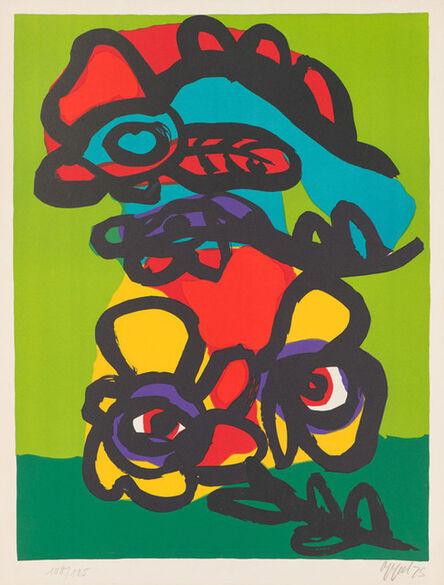Karel Appel, 'Hommage à Mourlot', 1975
