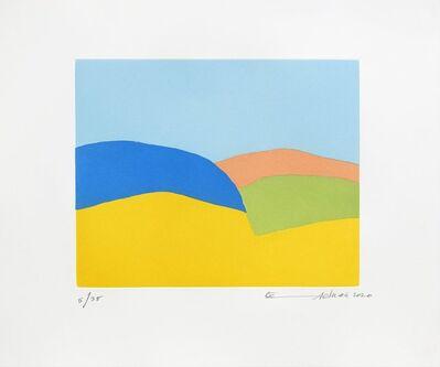 Etel Adnan, 'En chemin vers l'arc-en-ciel', 2020