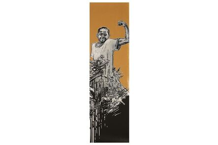 Swoon, 'Strong Boy', 2007