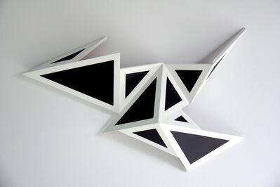Alexis Hayère, 'Peinture triangulée NB 1', 2020