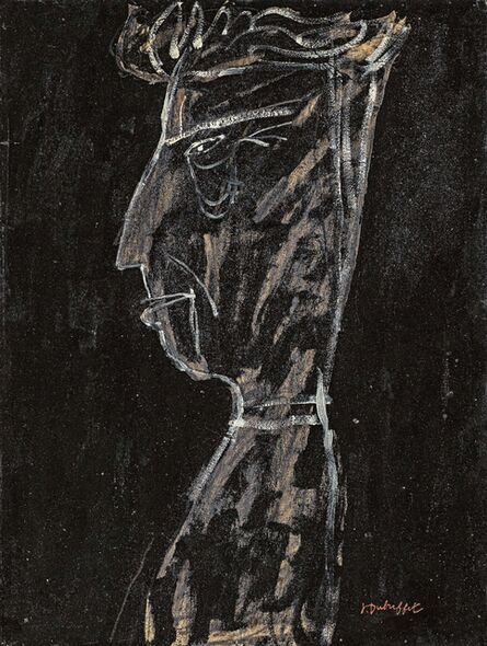 Jean Dubuffet, 'Portrait de Georges Limbour', 1946