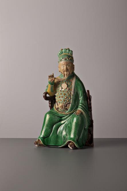 Kangxi Period, 'Seated Guandi', China, Kangxi period (1662, 1722) ca 1680, 90