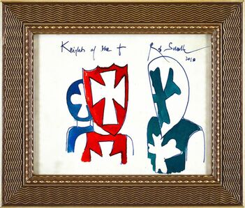 Rob Scholte, 'Knights of the +', 2010