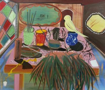 Shai Azoulay, 'Yellow bird and blue dream', 2015