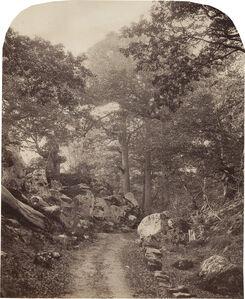 Alphonse Jeanrenaud, 'Fontainebleau', ca. 1860s