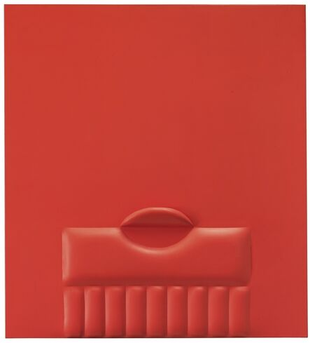 Agostino Bonalumi, 'Red', 1965