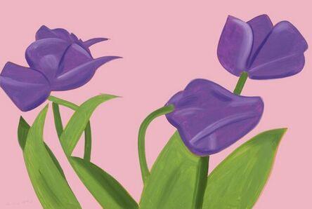 Alex Katz, 'Purple Tulips 1', 2021