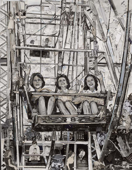 Vik Muniz, 'Ferris Wheel (Album)', 2015
