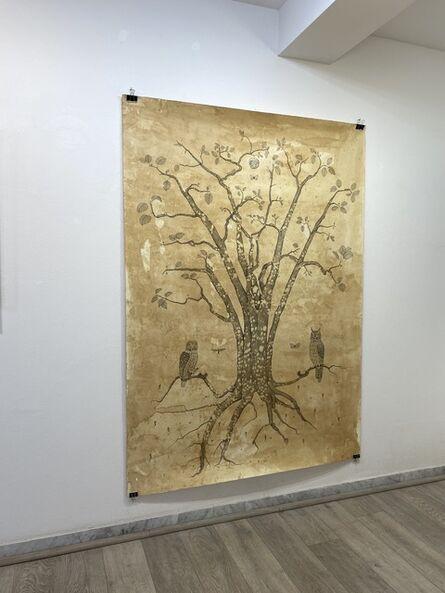 Andrea Collesano, 'Albero che trascende', 2017