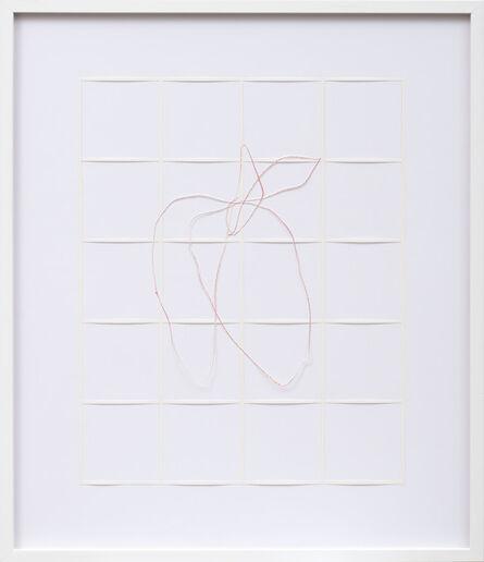 Katharina Hinsberg, 'Gitter Linien 2013_050', 2013
