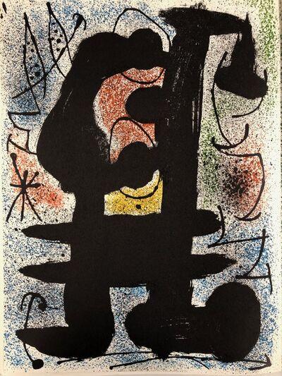 Joan Miró, 'L'oiseau solaire et lunaire. Etincelles', 1967