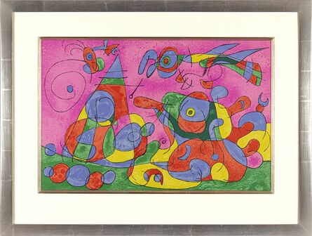 Joan Miró, 'Ubu Roi', 1966