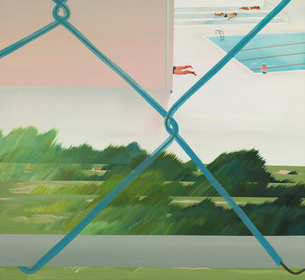 Yang-Tsung Fan, 'Swimming pool series –wire netting ', 2013