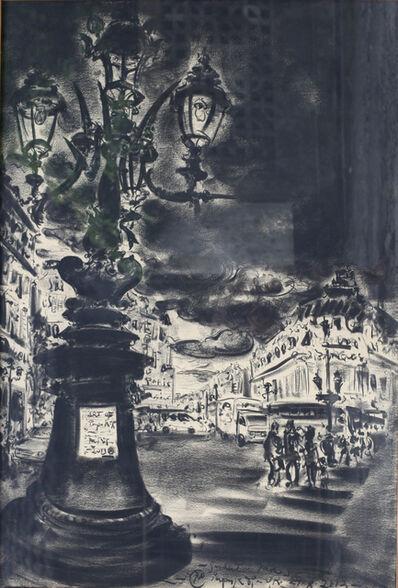 Pupuk DP, 'Sudut Kota Paris', 1990