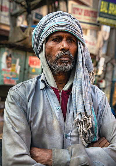 Neil O. Lawner, 'Portrait #4 India', 2020