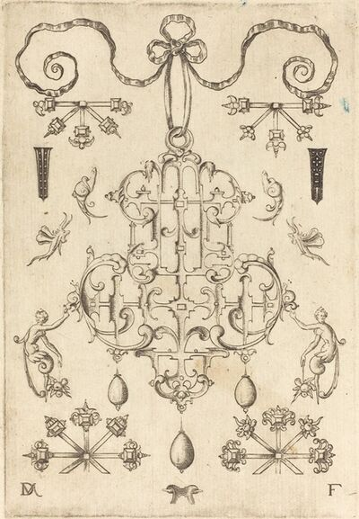 Daniel Mignot, 'Large Pendant with Three Drops Below', 1593