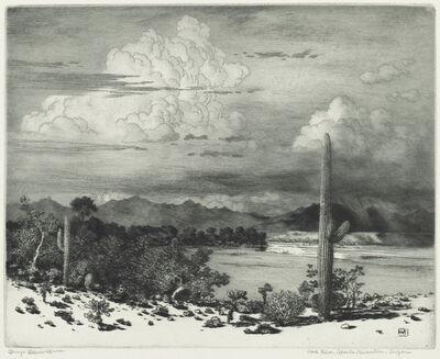 George Elbert Burr, 'Verde River, Apache Reservation, Arizona', in or after 1920
