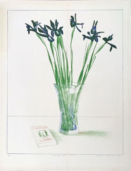 David Hockney, 'Still Life with Book', 1973