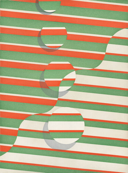 Tomma Abts, 'Untitled (wavy line)', 2015