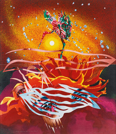 James Rosenquist, 'The Bird of Paradise Approaches the Hot Water Planet', 1989