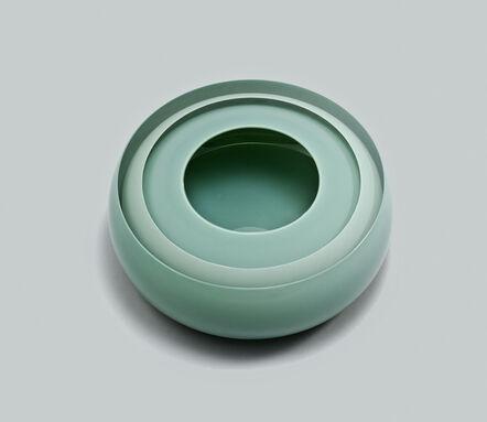 Tora Urup, 'Jade green and clear layers', 2015