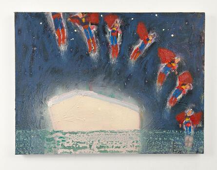 Katherine Bradford, 'Superman Responds, Ship', 2014