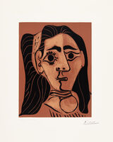 Pablo Picasso, 'Jacqueline in Headband II (Woman with Flowing Hair)', 1962
